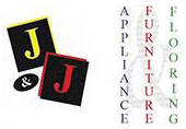 J & J Appliance, Furniture, and Flooring Logo